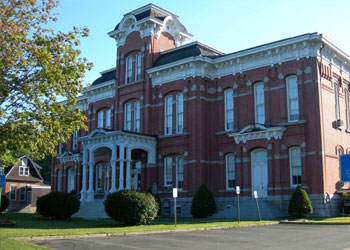 Wayne County Courthouse, James Manning B&B, Honesdale, PA