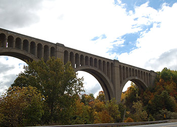 Nicholson Viaduct, James Manning B&B, Honesdale, PA