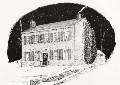 James Manning House, Old House Photo