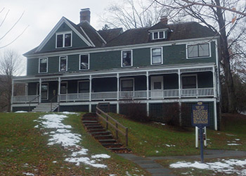 Zane Grey Museum, James Manning B&B, Honesdale, PA