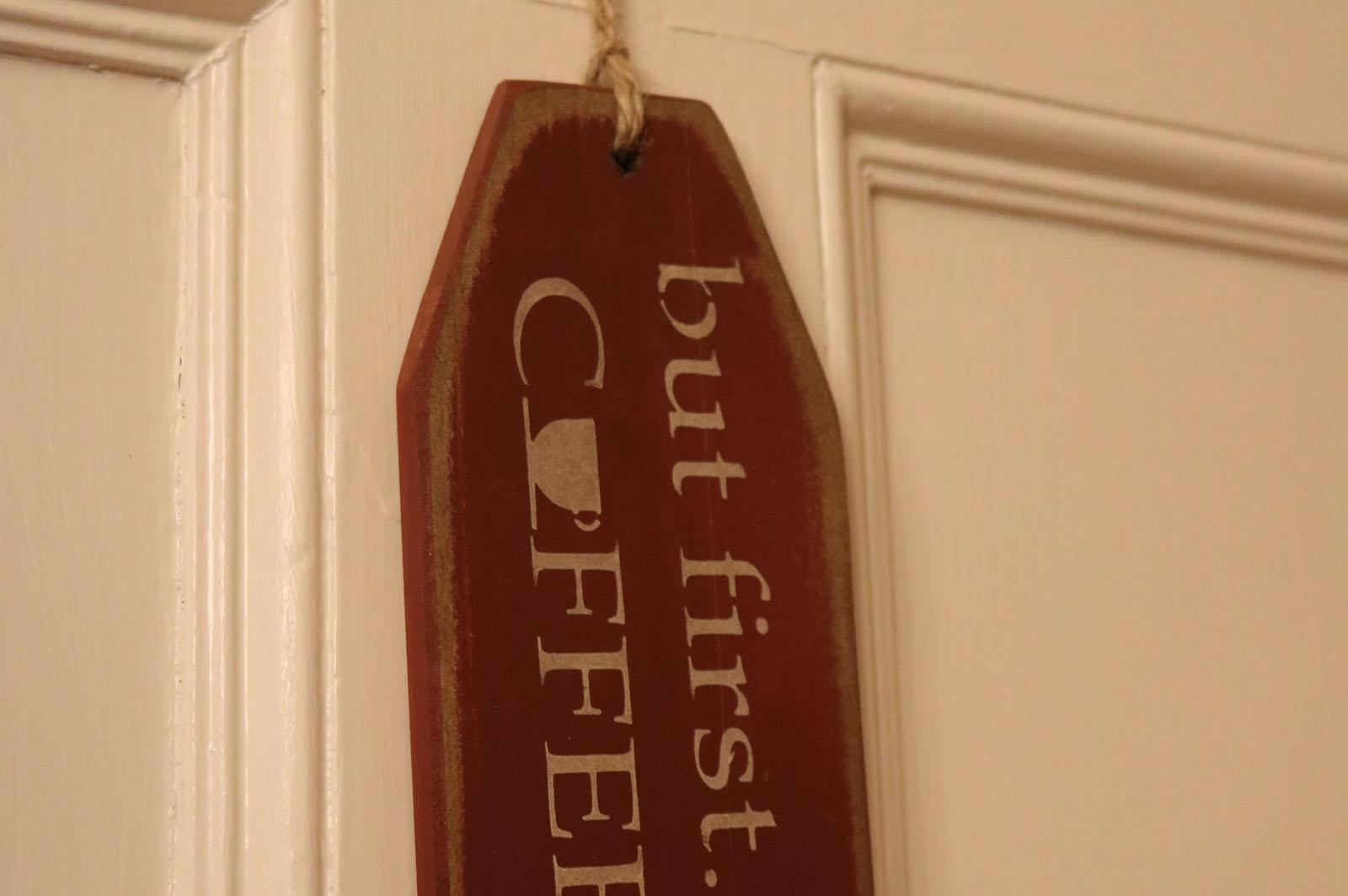 Coffee, James Manning B&B, Honesdale, PA