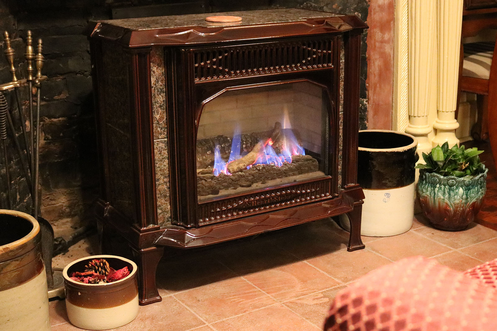 Cozy Fire, James Manning B&B, Honesdale, PA