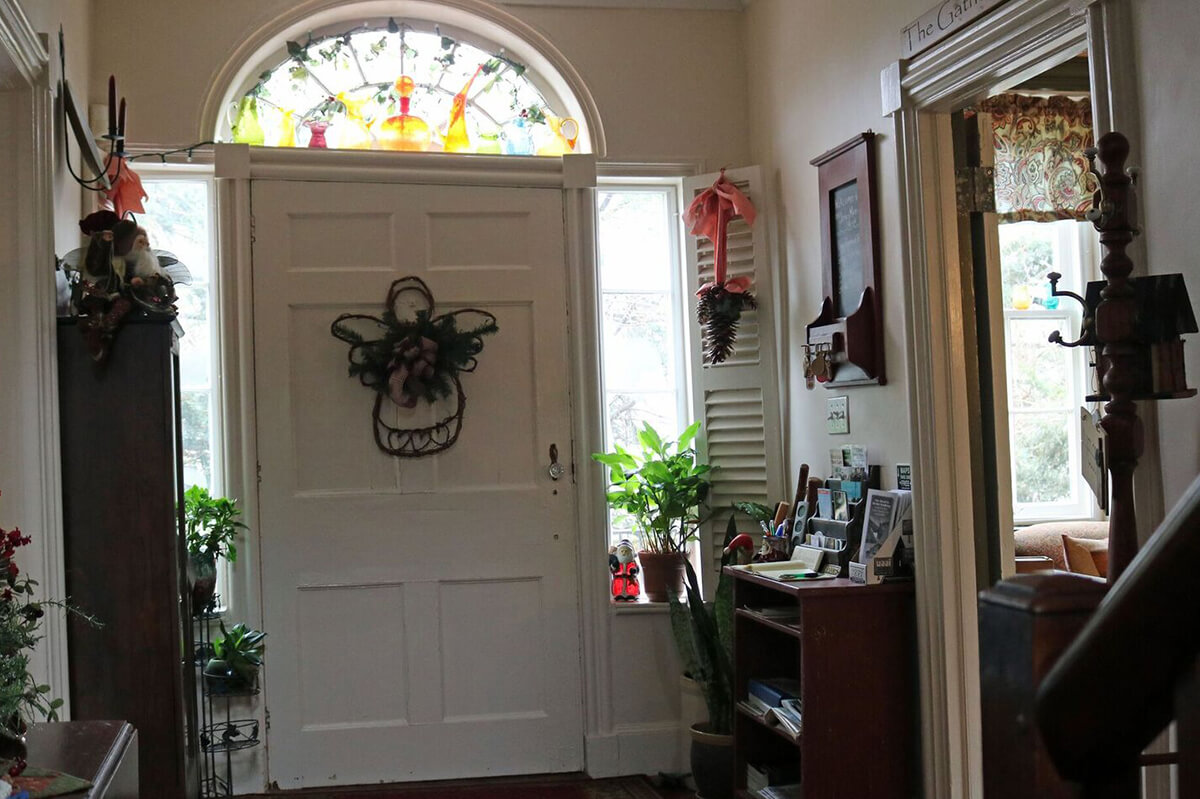 Front Entry, James Manning B&B, Honesdale, PA