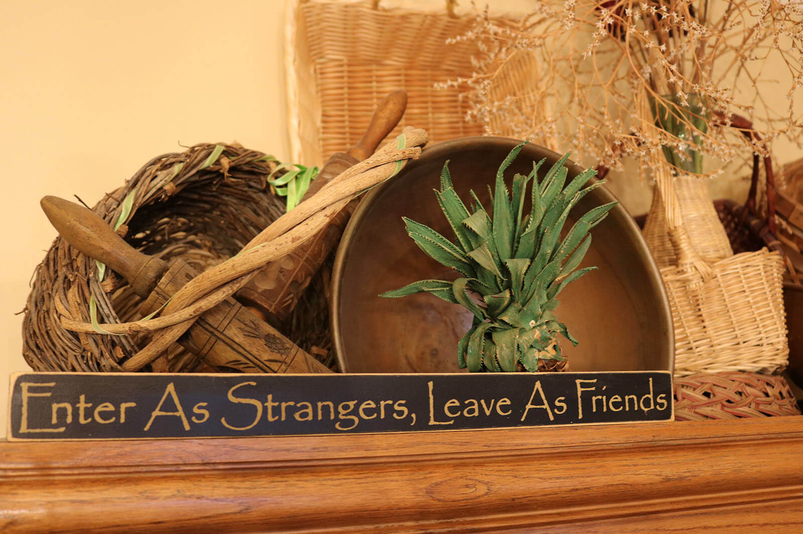 Motto, James Manning B&B, Honesdale, PA