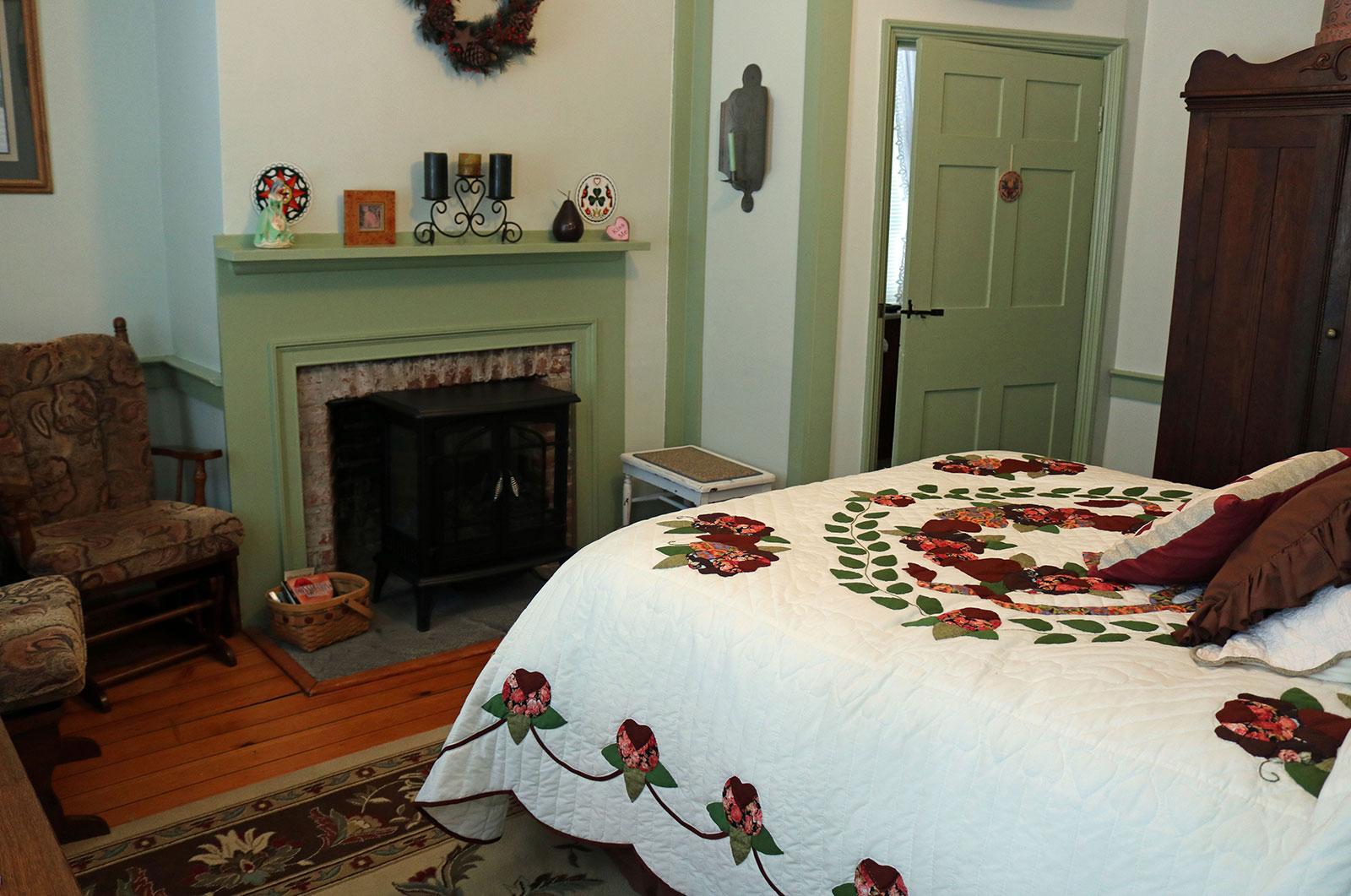 James Manning House, Berks Bedroom