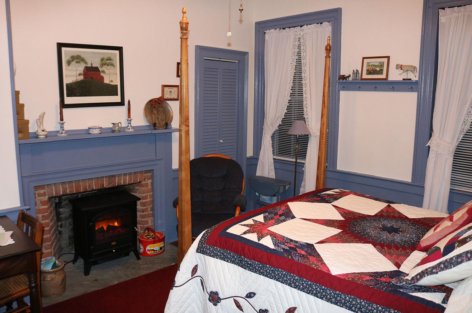James Manning House, Lancaster Bedroom