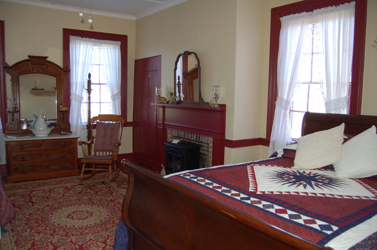 Wayne Room, James Manning B&B, Honesdale, PA